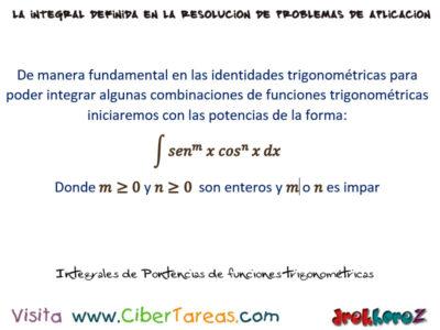Integrales de Potencias de funciones trigonométricas – Cálculo Integral 0