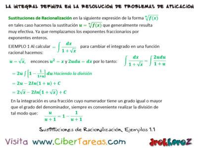 Sustituciones de Racionalización con Ejemplos – Cálculo Integral 0