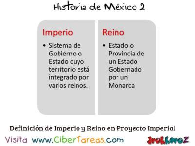 Proyecto Imperial en las ideologías Estado Nación – Historia de México 2 1