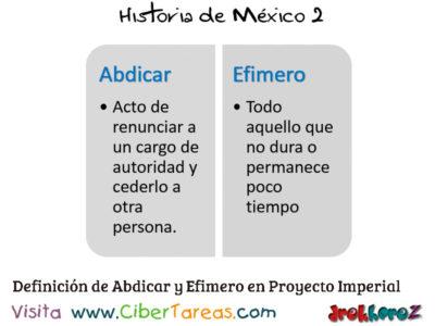 Modelo Político en el Proyecto Imperial – Historia de México 2 0