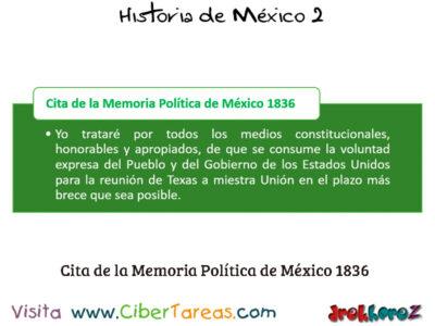 Guerra de Texas 1836 en las Dificultades Internas y Externas para Consolidar – Historia de México 2 3
