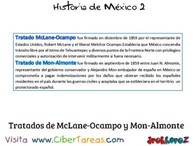 Guerra de los Tres Años y las dificultades internas y externas para consolidar en Historia de México 2 0