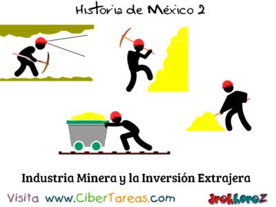 Industria Minera y la Inversion Extrajera Historia de Mexico