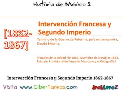 La Intervención Francesa y el Segundo Imperio y las dificultades internas y externas para consolidar – Historia de México 2 0