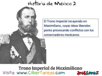 La Intervención Francesa y el Segundo Imperio y las dificultades internas y externas para consolidar – Historia de México 2 1