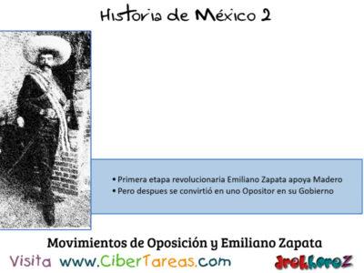 Movimientos de Oposición y Zapata en las Etapas de la Revolución Mexicana – Historia de México 2 0