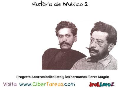 Proyecto Anarcosindicalista en los Antecedentes y las Etapas de la Revolución Mexicana 0