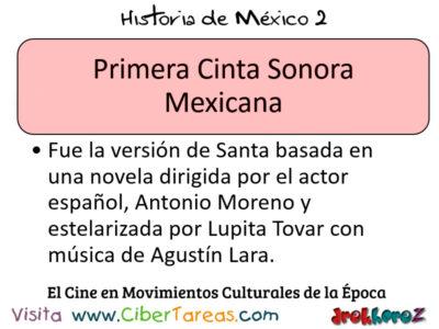 Cine como Movimientos Culturales de la época en la importancia de las instituciones – Historia de México 2 0
