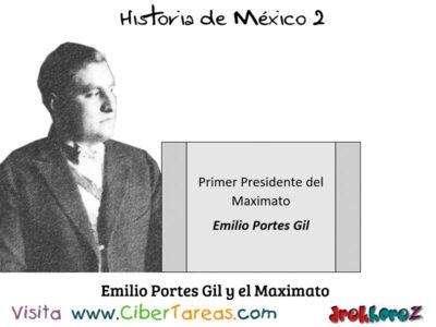 Emilio Portes Gil en el Maximato y la importancia de las instituciones – Historia de México 2 0