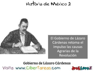 Inicio del Gobierno de Lázaro Cárdenas del Río en la importancia de las instituciones – Historia de México 2 0