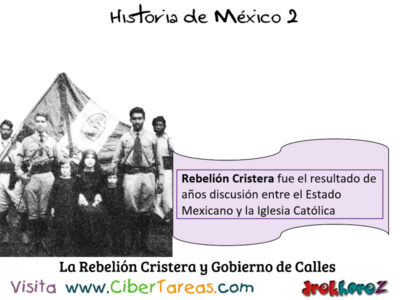 Rebelión Cristera y el gobierno de Calles en la importancia de las instituciones – Historia de México 2 0