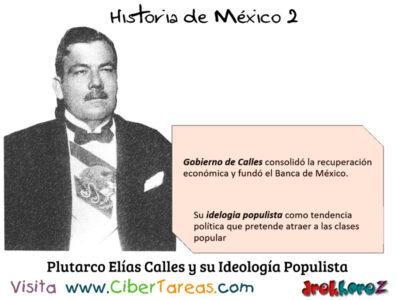 Gobierno de Plutarco Elias Calles en la Importancia de las instituciones – Historia de México 2, 0