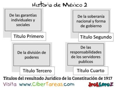 Resultados Jurídicos de las Etapas de la Revolución Mexicana – Historia de México 2 0